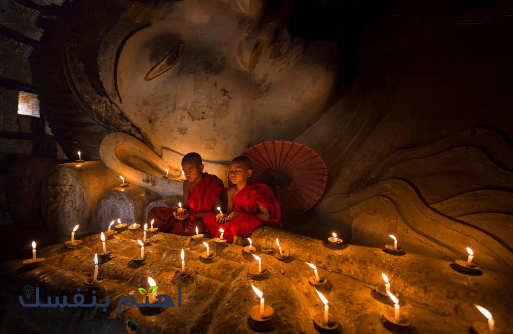 تعتبر الديانة البوذية من أقدم الديانات وأكثرها إنتشارا