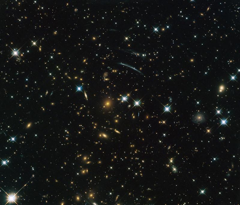 النجوم في الفضاء