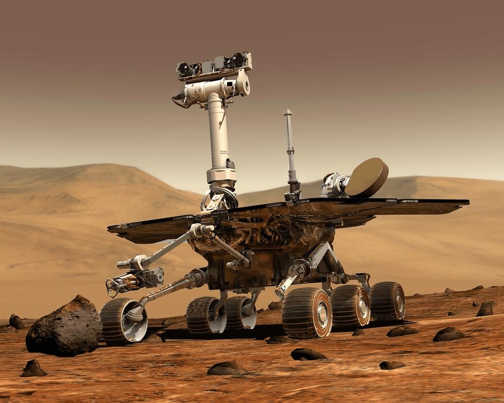 سطح كوكب المريخ