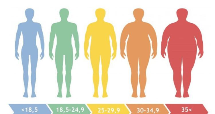 حساب كتلة الجسم